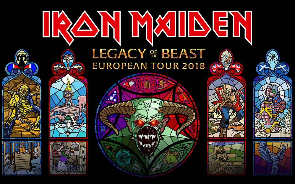 Iron Maiden 2018 – Legacy of The Beast