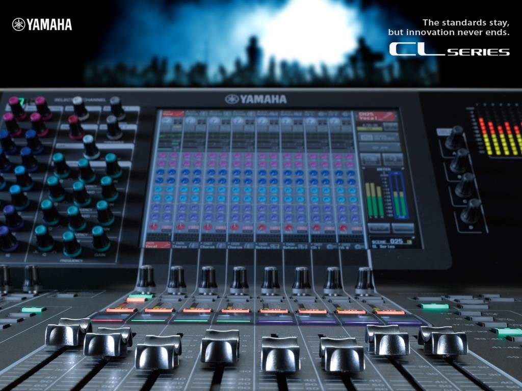 Yamaha CL5 Digital Mixing Console Added to Hire Inventory